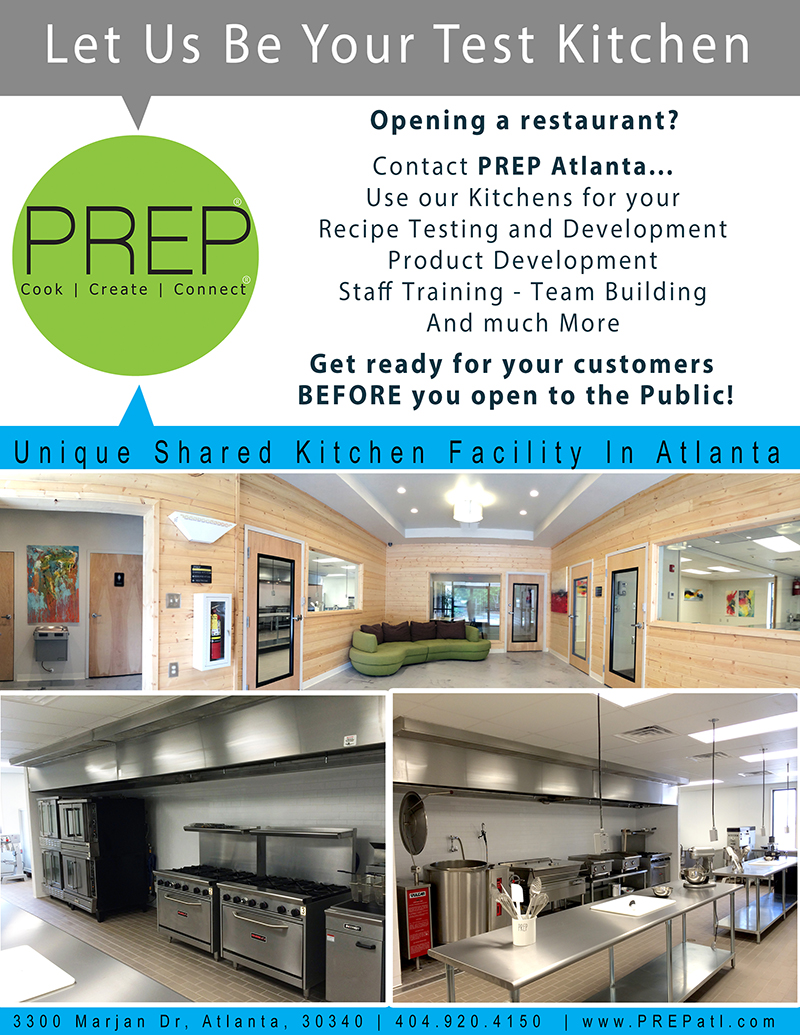 A Unique Commercial Kitchen Facility   PREP Atlanta